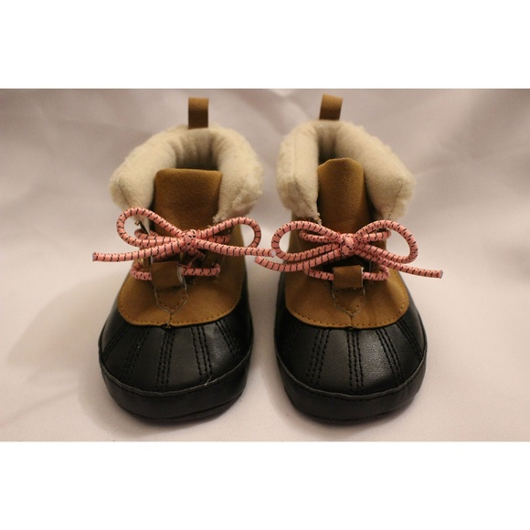 Carters Baby Girl Duck Boots